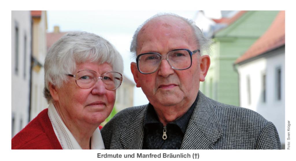 Erdmute und Manfred Bräunlich